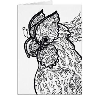 Cockatoo card