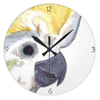 Cockatoo Clock