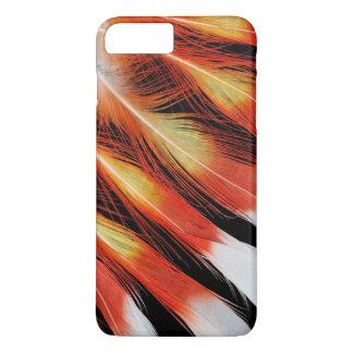 Cockatoo Feather Pattern iPhone 8 Plus/7 Plus Case