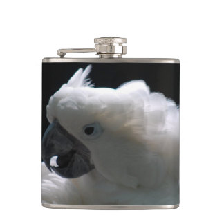 Cockatoo Hip Flask