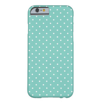 Cockatoo, Mint Green And White Small Polka Dots Barely There iPhone 6 Case