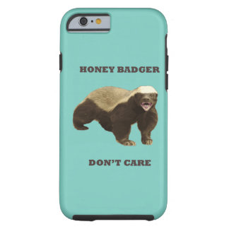 Cockatoo Mint Honey Badger Don't Care Pattern Tough iPhone 6 Case