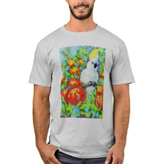 Cockatoo Waratah T-shirt