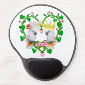 Cockatoos of the Heart Gel Mouse Pad