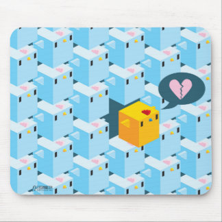 Cockblock Wall Mousepad