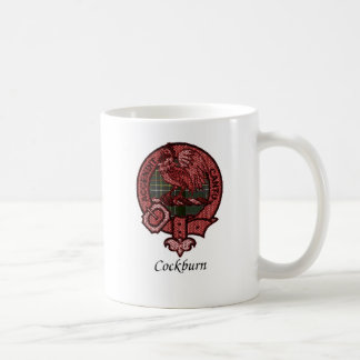 Cockburn Clan Crest Coffee Mug