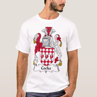 Cocke Family Crest T-Shirt
