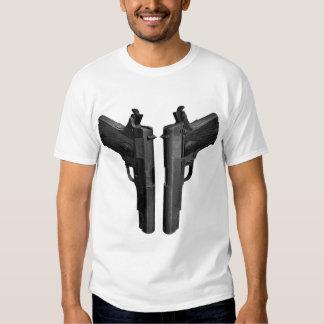 Cocked 1911 Pistol T Shirt