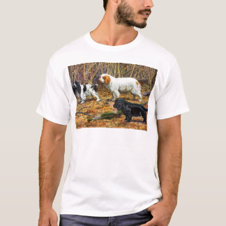 Cocker, Clumber and Field Spaniels T-Shirt