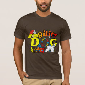 Cocker Spaniel Agility Gifts T-Shirt