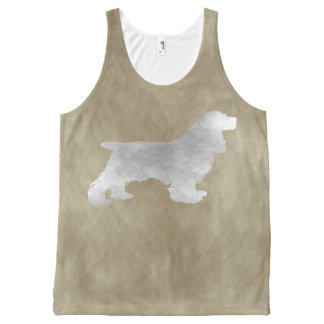Cocker spaniel All-Over print tank top