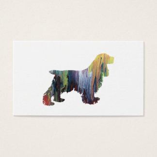 Cocker Spaniel Art Business Card