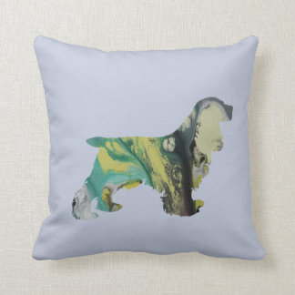 Cocker Spaniel Art Cushion