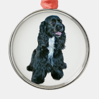 Cocker Spaniel - Black #2 Metal Ornament
