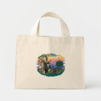 Cocker Spaniel black Tote Bags