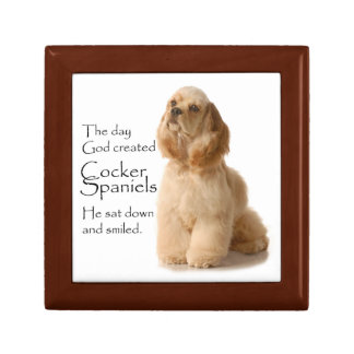 Cocker Spaniel Box
