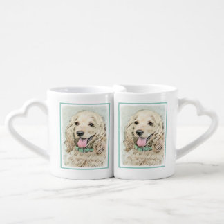 Cocker Spaniel (Buff) Coffee Mug Set