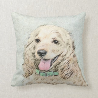 Cocker Spaniel (Buff) Cushion