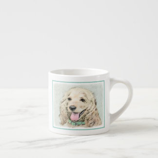 Cocker Spaniel (Buff) Espresso Cup