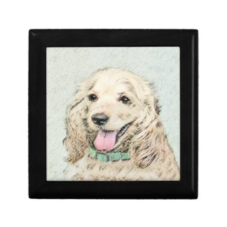 Cocker Spaniel (Buff) Gift Box