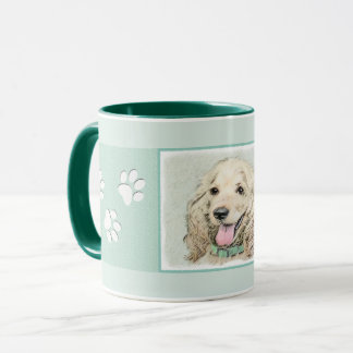 Cocker Spaniel (Buff) Mug