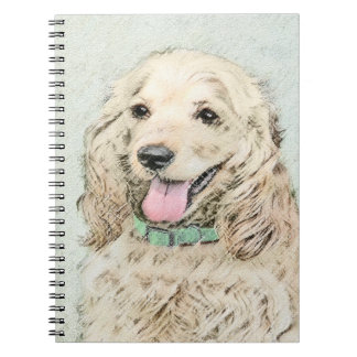 Cocker Spaniel (Buff) Note Book