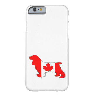 Cocker Spaniel Canada Barely There iPhone 6 Case