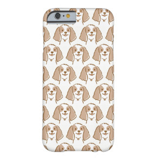 Cocker Spaniel Cartoon Dog Pattern Barely There iPhone 6 Case