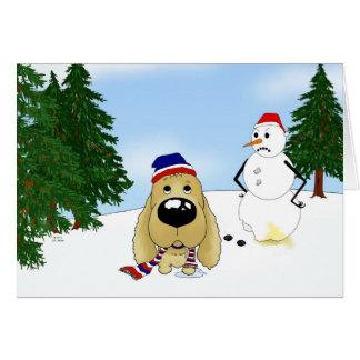 Cocker Spaniel Christmas Cards