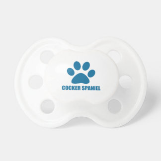 COCKER SPANIEL DOG DESIGNS DUMMY