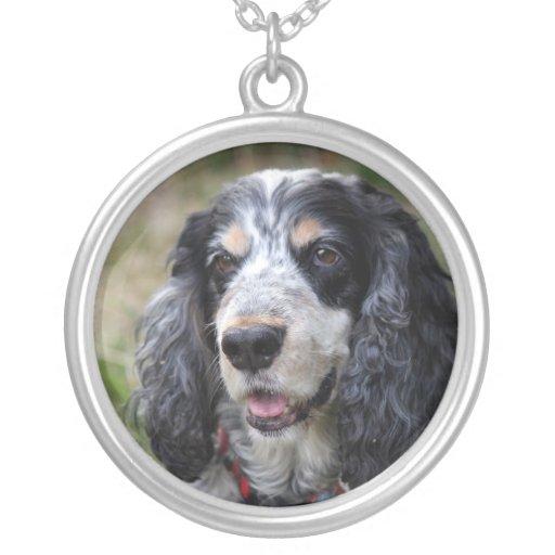 Cocker Spaniel dog necklace, gift idea