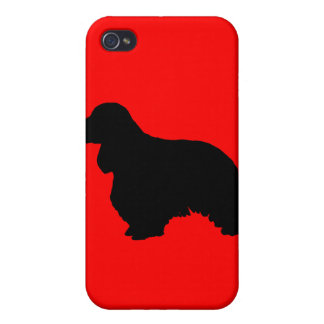 Cocker spaniel iPhone 4/4S cover