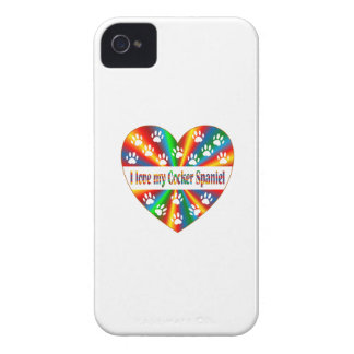 Cocker Spaniel Love iPhone 4 Cover