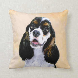 Cocker Spaniel (Parti-Colored) Cushion