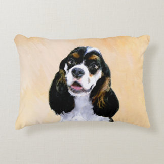Cocker Spaniel (Parti-Colored) Decorative Cushion
