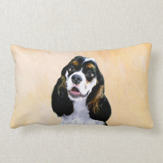 Cocker Spaniel (Parti-Colored) Lumbar Cushion