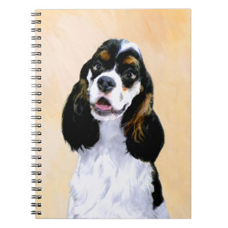 Cocker Spaniel (Parti-Colored) Notebook