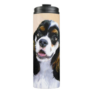 Cocker Spaniel (Parti-Colored) Thermal Tumbler