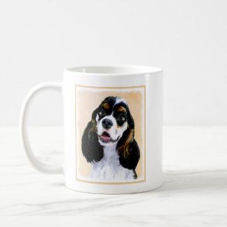 Cocker Spaniel (Parti) Painting - Original Dog Art Coffee Mug