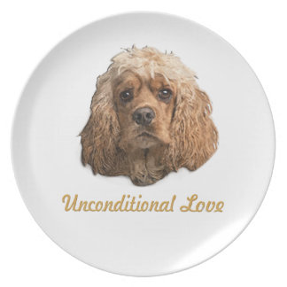 Cocker Spaniel products Plate