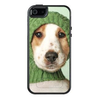 Cocker Spaniel Puppy Wearing Wool Cap OtterBox iPhone 5/5s/SE Case