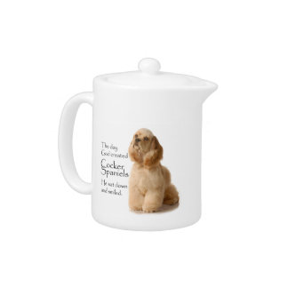 Cocker Spaniel Teapot