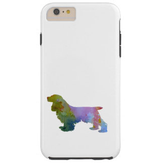 Cocker Spaniel Tough iPhone 6 Plus Case