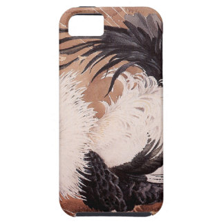 Cockerel in the wind iPhone 5 cover