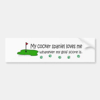 CockerSpaniel Bumper Sticker
