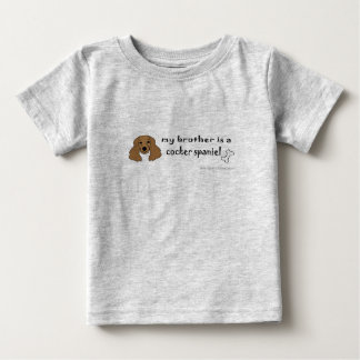 CockerSpanielBrownBrother Baby T-Shirt