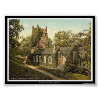 Cockington Church, Torquay, England Poster