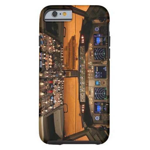 Cockpit by Night iPhone 6 Case
