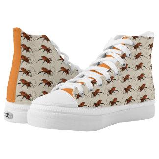 Cockroach High Top Shoes / La Cucaracha Shoes
