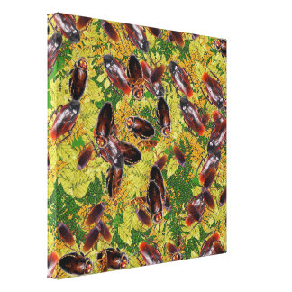Cockroaches Canvas Print